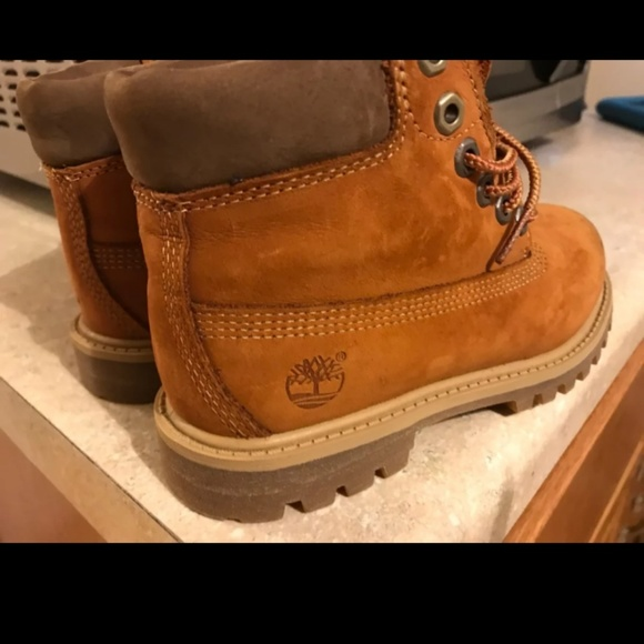 Rust Color Timberlands Boots | Poshmark